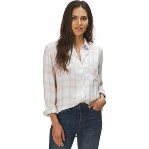Rails Hunter Ivory/Blush/Sky Shirt - Women's