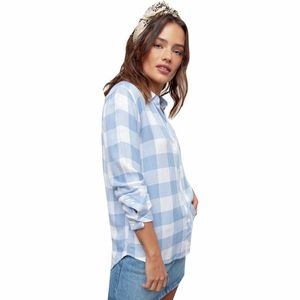 Rails Hunter White/Powder Blue Shirt - Women's