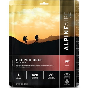 AlpineAire Pepper Beef with Rice