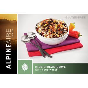 AlpineAire Rice and Beans Bowl with Vegetables