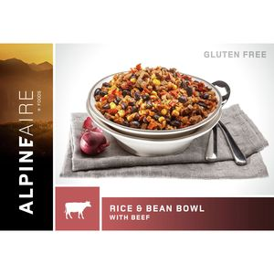 AlpineAire Rice and Beans Bowl with Beef