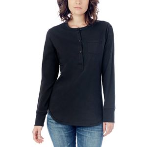 Alternative Apparel Donna Henley Top - Women's