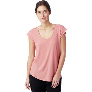 Alternative Apparel Slinky V-Neck Shirt - Women's