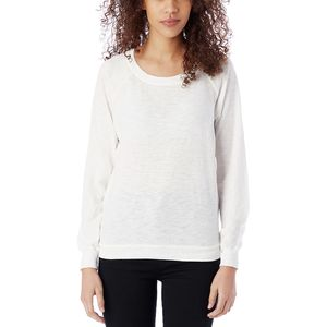 Alternative Apparel Solid Slub Slouchy Pullover - Women's