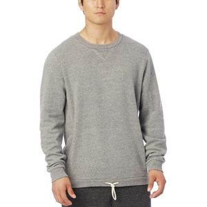 Alternative Apparel Solid Courtside Pullover Crew Sweatshirt - Men's