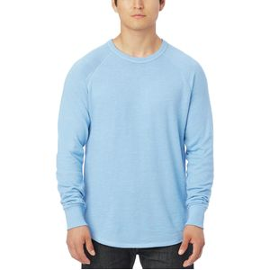 Alternative Apparel Solid Kick Back Pullover Crew Sweatshirt - Men's