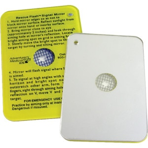 Adventure Medical SOL Rescue Flash Signal Mirror