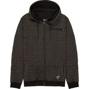 Alpha Beta Full-Zip Hoodie with Zip Chest Pocket - Men's