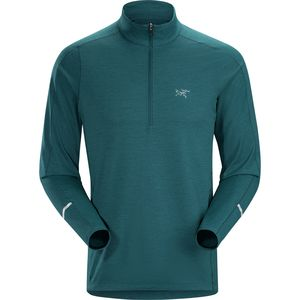Arc'teryx Cormac Zip-Neck Long-Sleeve Shirt - Men's