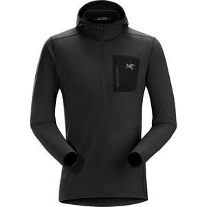 Arc'teryx Rho LT Hooded Zip Neck Top - Men's