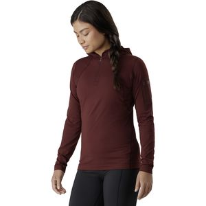 Arc'teryx Rho LT Hooded Zip Neck Top - Women's