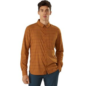 Arc'teryx Riel Long-Sleeve Button-Up Shirt - Men's