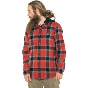 Armada Reading Hooded Flannel Shirt - Men's