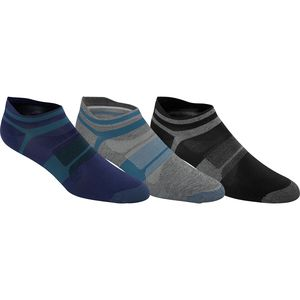 Asics Quick Lyte Single Tab Ultra-Light Running Socks - 3-Pack - Men's