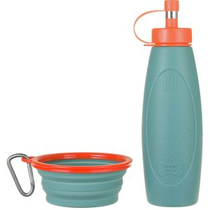 Avalanche Dog Water Bottle/Dish Set