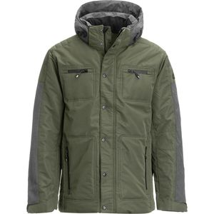 Avalanche Quilted Insulated Jacket with Front Chest Pockets - Men's