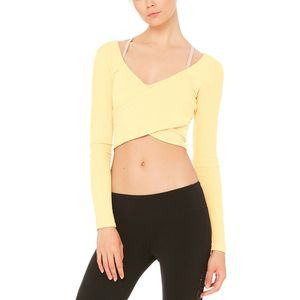Alo Yoga Amelia Crop Shirt - Women's