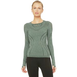 Alo Yoga Lark Long-Sleeve Shirt - Women's