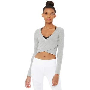 Alo Yoga Amelia Luxe Long-Sleeve Crop - Women's