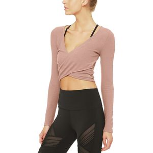 Alo Yoga Amelia Luxe Long-Sleeve Crop Top - Women's