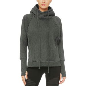 Alo Yoga Frost Long-Sleeve Pullover Hoodie - Women's