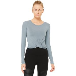ALO YOGA Cover Long-Sleeve Top - Women's