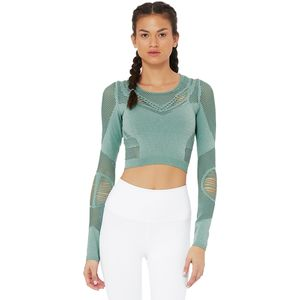 Alo Yoga Siren Long-Sleeve Shirt - Women's