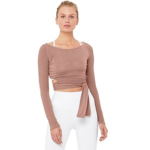 ALO YOGA Barre Long-Sleeve Top - Women's