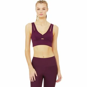 ALO YOGA United Long Bra - Women's