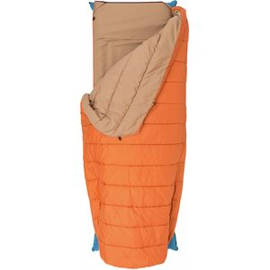 Big Agnes Buffalo Park Sleeping Bag: 40 Degree Synthetic