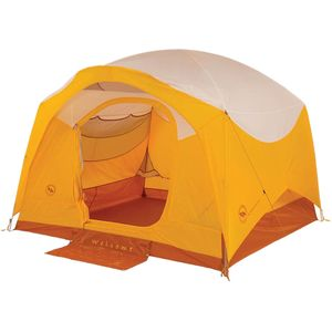 Big Agnes Big House Deluxe Tent: 4-Person 3-Season
