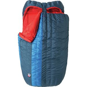 Big Agnes King Solomon Double Sleeping Bag: 15 Degree Down