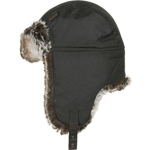 Barbour Hardwick Fur Trapper Cap - Men's