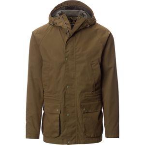 Brown Rain Jacket