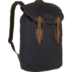 Barbour Barbour Wax Leather Backpack