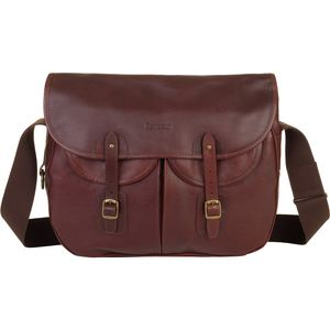 Barbour Leather Tarras Messenger Bag