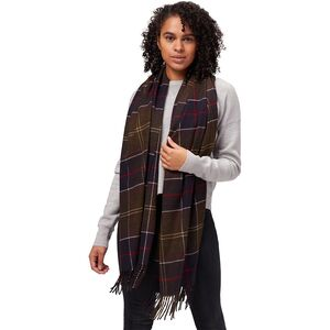 Barbour Hailes Tartan Wrap Scarf - Women's