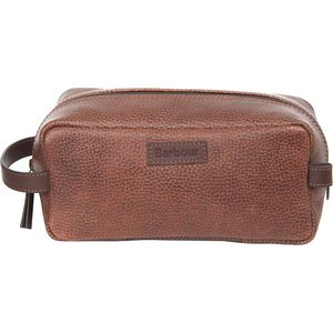 Barbour Laddon Leather Wash Bag