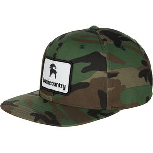 Backcountry Flat Brim Patch Snapback