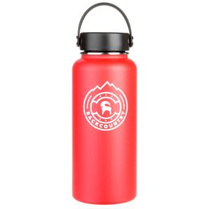 Backcountry Medallion Logo Hydro Flask Water Bottle - 32oz
