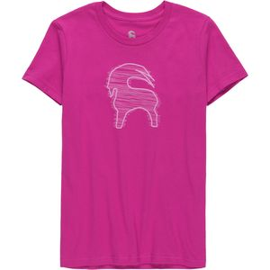 Backcountry Scribble Goat Cotton T-Shirt - Girls'