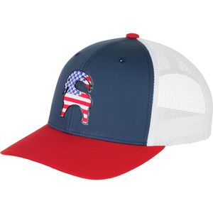 Backcountry Limited Edition USA Goat Patch Trucker Hat