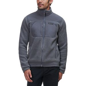 Backcountry Mid-Ivory Sherpa Fleece Jacket - Men's