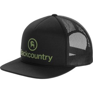 Backcountry Logo Flatbrim Trucker Hat