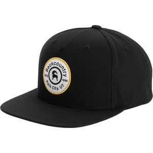 Backcountry Logo Medallion Snapback Hat