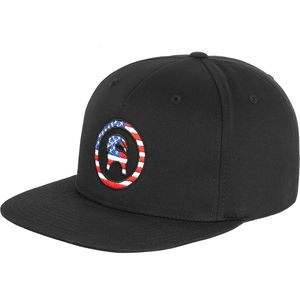 Backcountry Americana Circle Goat Snapback Hat