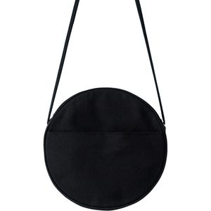 BAGGU Small Canvas Circle Purse - Women's