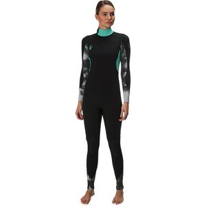 Body Glove Stellar Back Zip 3 2MM Full Wetsuit - Women s b6dc0aaad