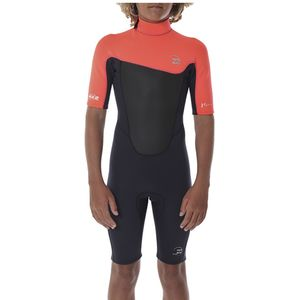 Billabong Foil 2mm Back Zip Short-Sleeve Springsuit - Boys'
