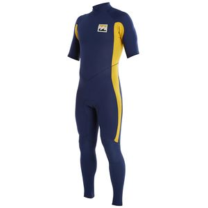 Billabong Revolution Re-Issue TW 202 Back Zip Full Short-Sleeve Wetsuit - Men's
